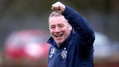 Rangers manager Ally McCoist.