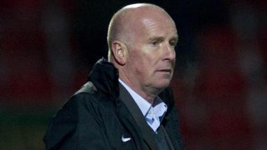 Dundee Utd manager Peter Houston.