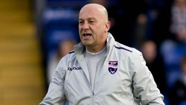 Ross County assistant manager Neale Cooper.