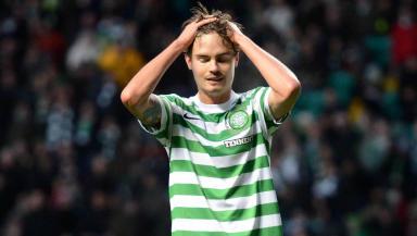 Celtic defender Mikael Lustig.
