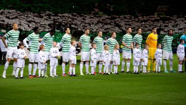 Celtic, Celtic Park, Champions League night, November 2012.