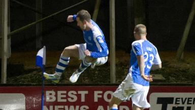 Steven MacLean, St Johnstone 2-2 Hearts, December 2012.