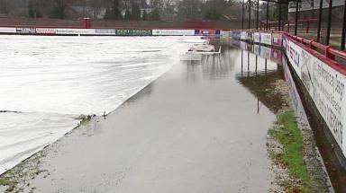 Flooding Brechin City