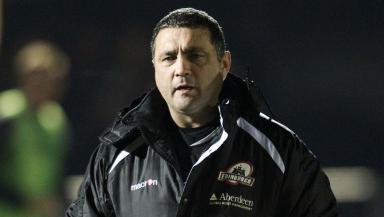 Edinburgh head coach Michael Bradley.
