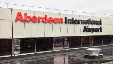 Aberdeen Airport: Named as worst in Scotland.