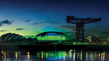 Glasgow: The SSE Hydro is a world-class venue.