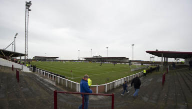 Gayfield Park: Drone spotted on Saturday.