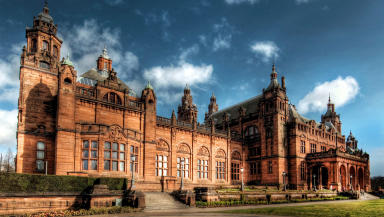 Kelvingrove Art Gallery and Museum exterior.