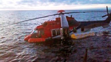 CHC Scotia Super Puma EC225 ditched in the North Sea on 22/10/12.