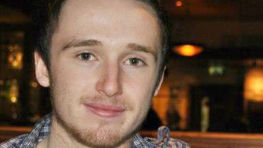 Missing Stirling University student David O'Halloran, 18, from Kilmaurs in Ayrshire.