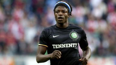 Celtic striker Mo Bangura