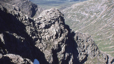 The woman fell 500ft from Ben Nevis.