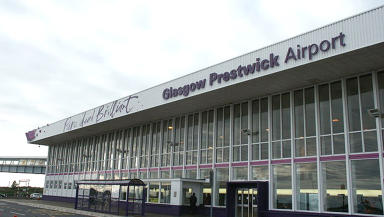 Pure brilliant: Glasgow Prestwick Airport.