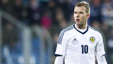 Scotland striker Jordan Rhodes.