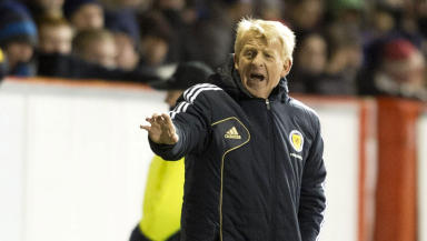 Gordon Strachan Estonia friendly