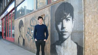 Australian artist Peter Drew.