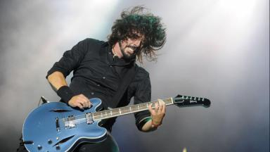 Rocker: Foo Fighters will also perform.