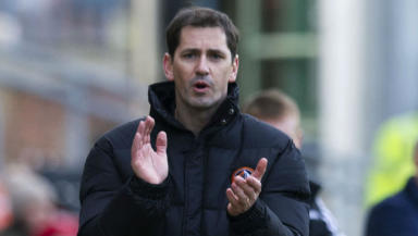 Jackie McNamara, Dundee United, February 2013.