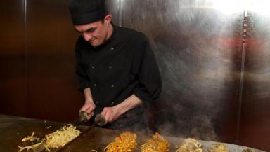 Mongolian restaurant: The Khublai Khans restaurant in the Merchant City is offering horsemeat burgers.