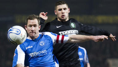 St Johnstone defender Frazer Wright.