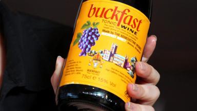 Buckfast tonic wine label close quality image