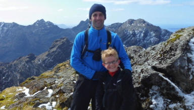 Daniel Smith, 9, from Milton of Campsie, became youngest person to bag all Scotland's Munros in February 2013.