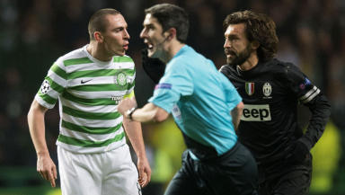 Scott Brown v juventus