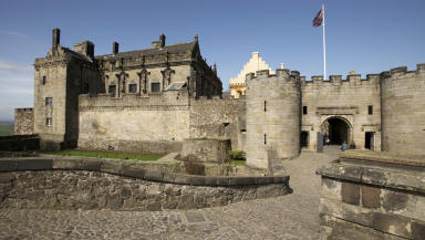 Stirling Castle: Footfall increased by 7%.