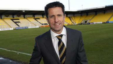 Livingston director of football John Collins.