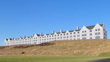 GV of Donald Trump's Aberdeenshire Hotel