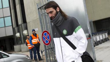 Celtic striker Georgios Samaras.