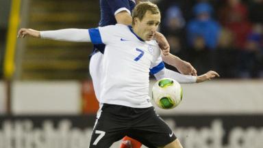Sander Puri Scotland v Estonia February 2013