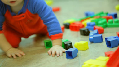 Childcare: Scottish Government working with councils (file pic).