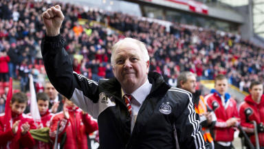 Craig Brown after Aberdeen's 2-0 home win over Hearts.