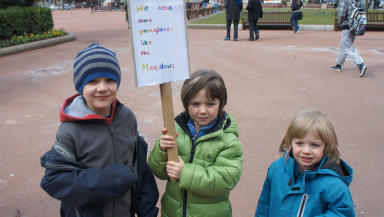 Kelvin Meadow protest George Square