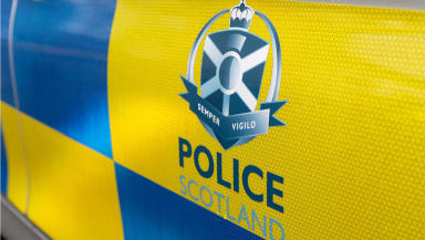 Police Scotland believe suspects had weapons