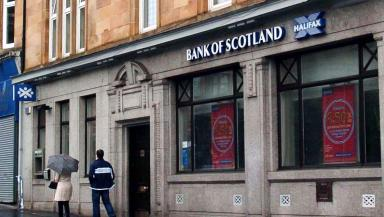 Bank of Scotland: Jobs to be lost.