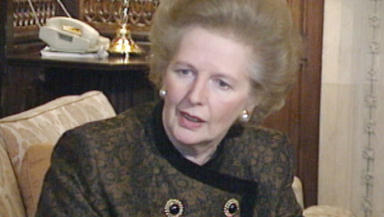 Margaret Thatcher: Addressed general Assembly in 1988.