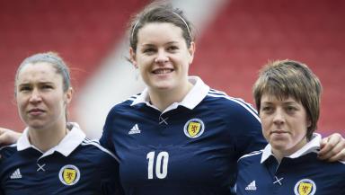 Scotland ladies team