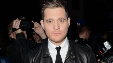 Tour: Michael Bublé  will perform in Glasgow next year.