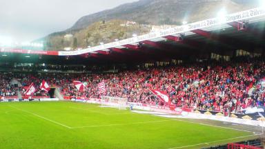 Brann Stadion, SK Brann, Norway, Creative Commons.