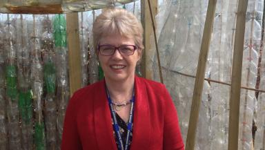 Jill Barry, head teacher of Hazlewood School