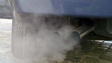 Emissions: Capital has 8000 diesel drivers (file pic).