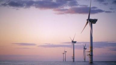 GV of EOWDC wind farm at Aberdeen Bay.