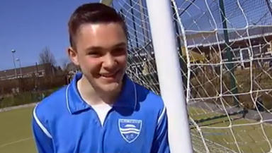 Airdrie United forward Jordan Allan.