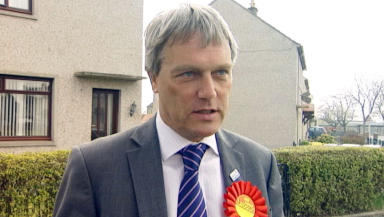 Willie Young, labour candidate for Aberdeen Donside by-election