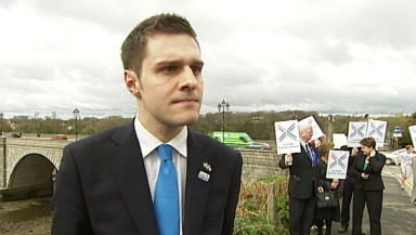 Ross Thomson : Tory Conservative candidate in the Aberdeen Donside by-election.