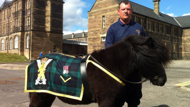 Cruachan IV with Corporal Mark Wilkinson