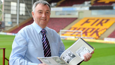 Former Motherwell player Joe Wark
