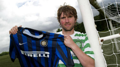 Paddy McCourt, Celtic, July 2013.